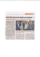 thumbnail of (2019-05-23) CSC für Umwelt-Blatt nominiert