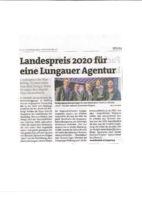 thumbnail of (2020-02-26) Landespreis 2020 für eine Lungauer Agentur