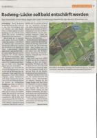 thumbnail of (2021-01-28) Radweg-Lücke soll bald entschärft werden