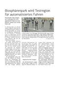 thumbnail of (2021-06-25) Biosphärenpark wird Testregion für automatisiertes Fahren