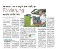 thumbnail of (2021-07-05) Erneuerbare Engergie Die nächste Förderung wurde gestrichen