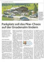 thumbnail of (2021-08-24) Parkplatz soll das Pkw-Chaos auf der Gnadenalm lindern