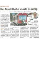 thumbnail of (2021-08-26) Um Murtalbahn wurde es ruhig