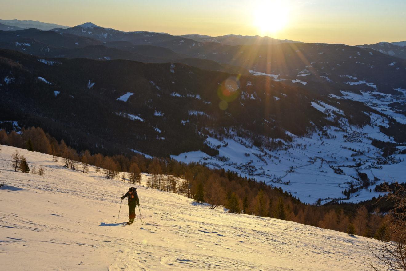 Unterwegs im Biosphärenpark: Skitour Gensgitsch