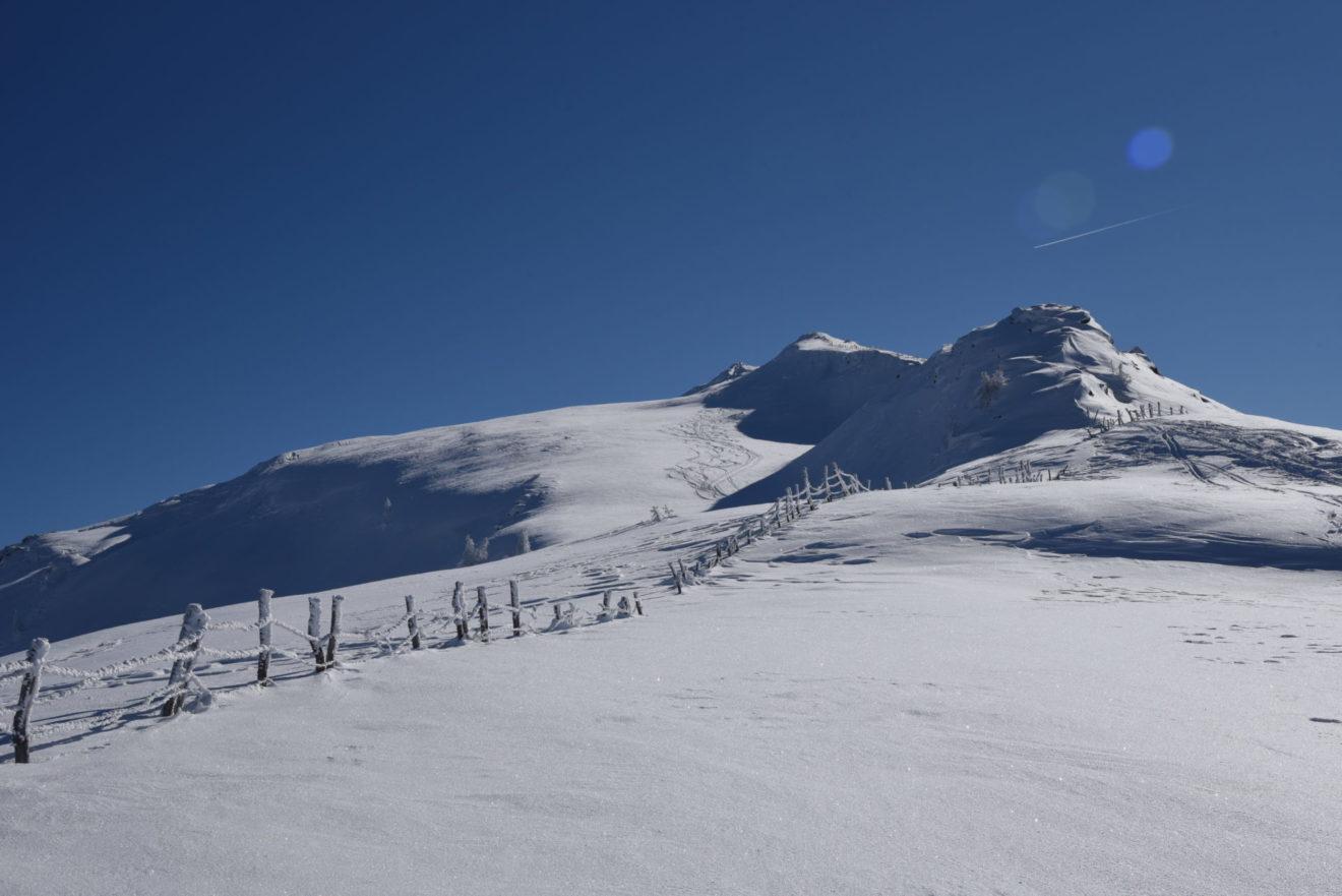 Schneeschuh Tour Gstoder - Unterwegs im Biosphärenpark
