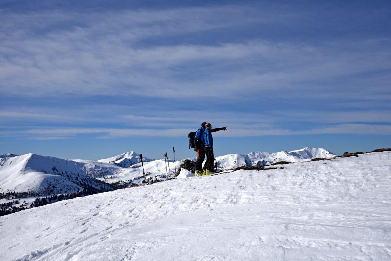 Skitour Klölingnock