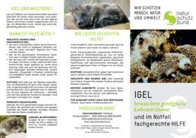 thumbnail of Igelfolder_Naturschutzbund