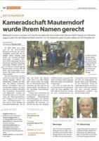 thumbnail of LN_Kameratschaft Mauterndorf wurde ihrem Namen gerecht