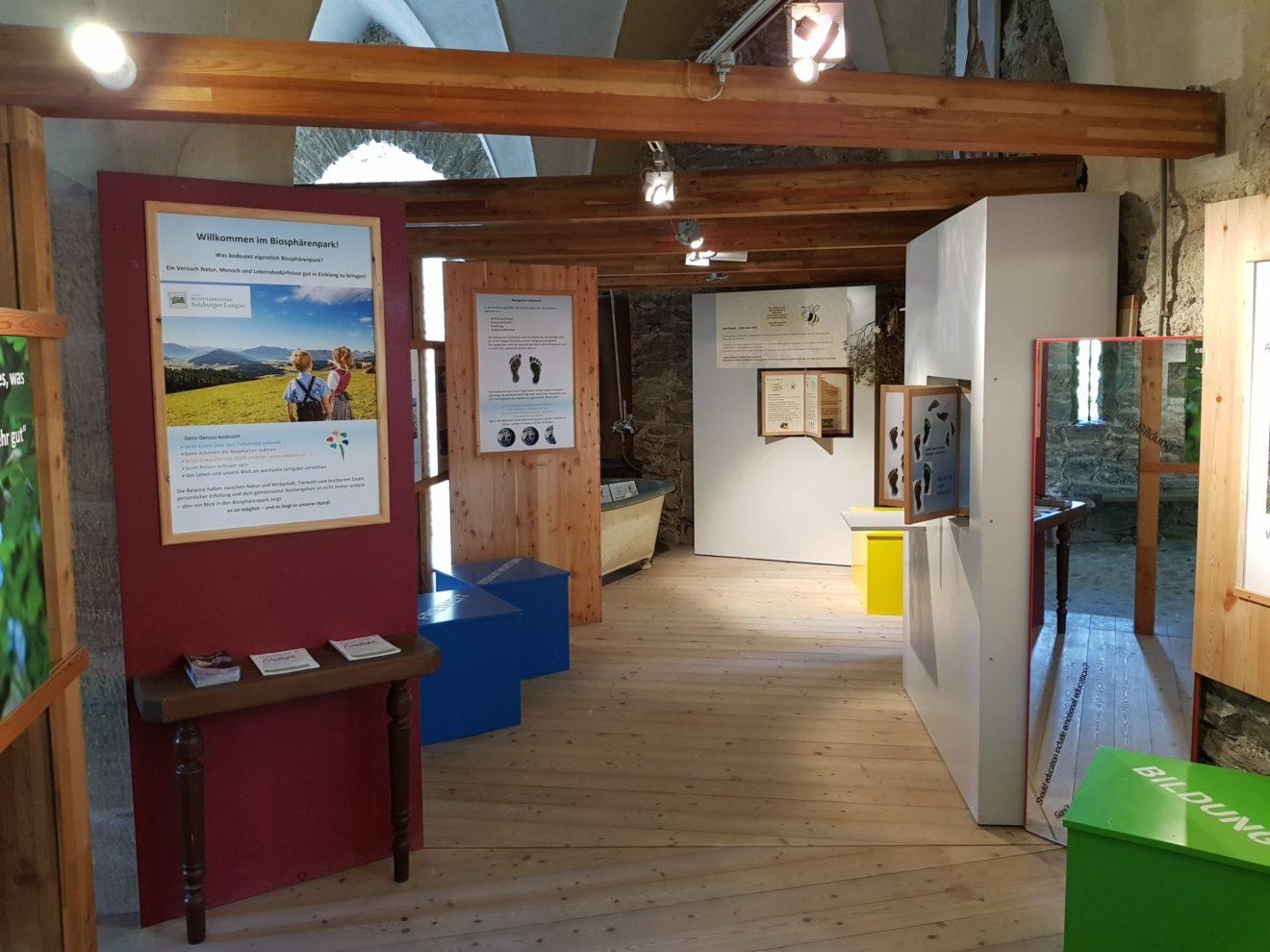"""""""Gutes Leben"""" - Biosphären Ausstellung Burg Finstergrün"""