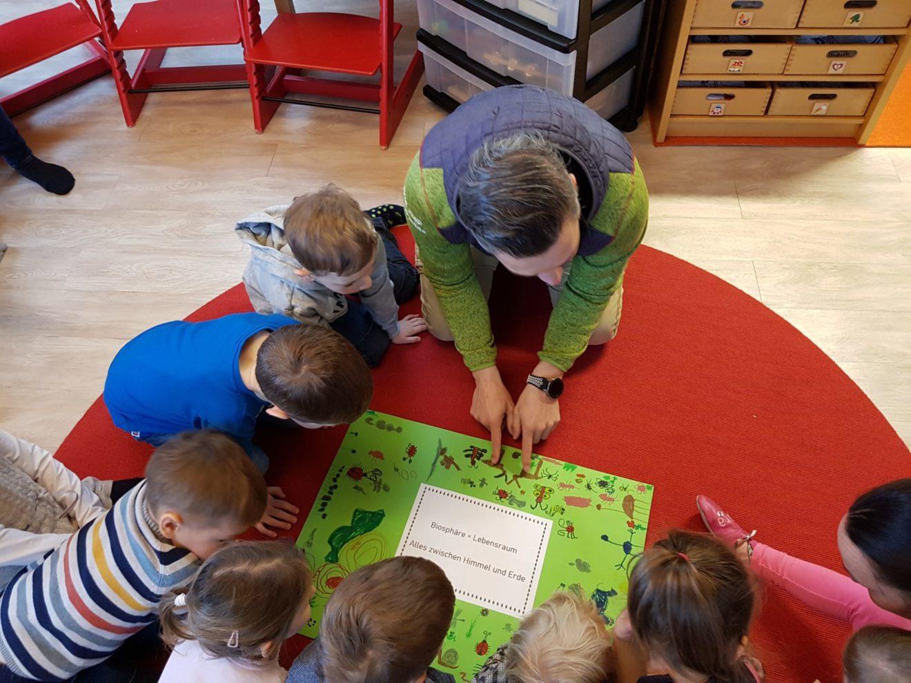 """Ernennung des KIGA Göriach zum """"Biosphärenpark Kindergarten"""""""