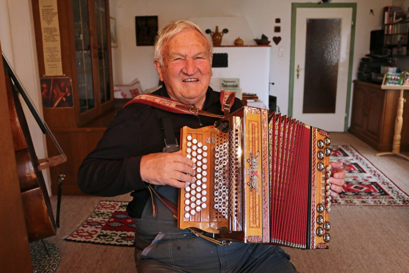 Musikpionier Hans Neubacher   Altes Wissen