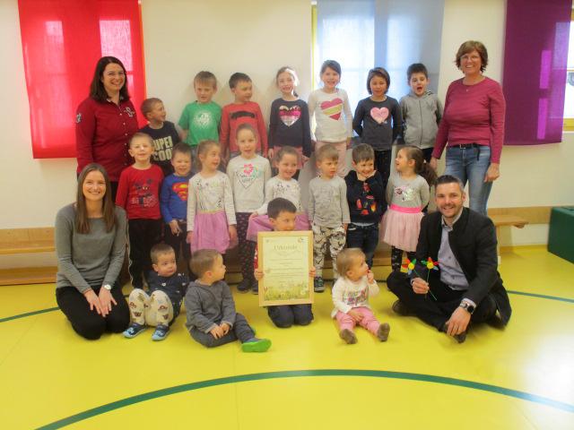 """KIGA Mauterndorf Ernennung zum """"Biosphärenpark Kindergarten"""""""