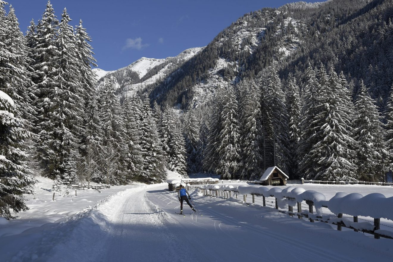Langlaufen - Von Mauterndorf nach Tweng