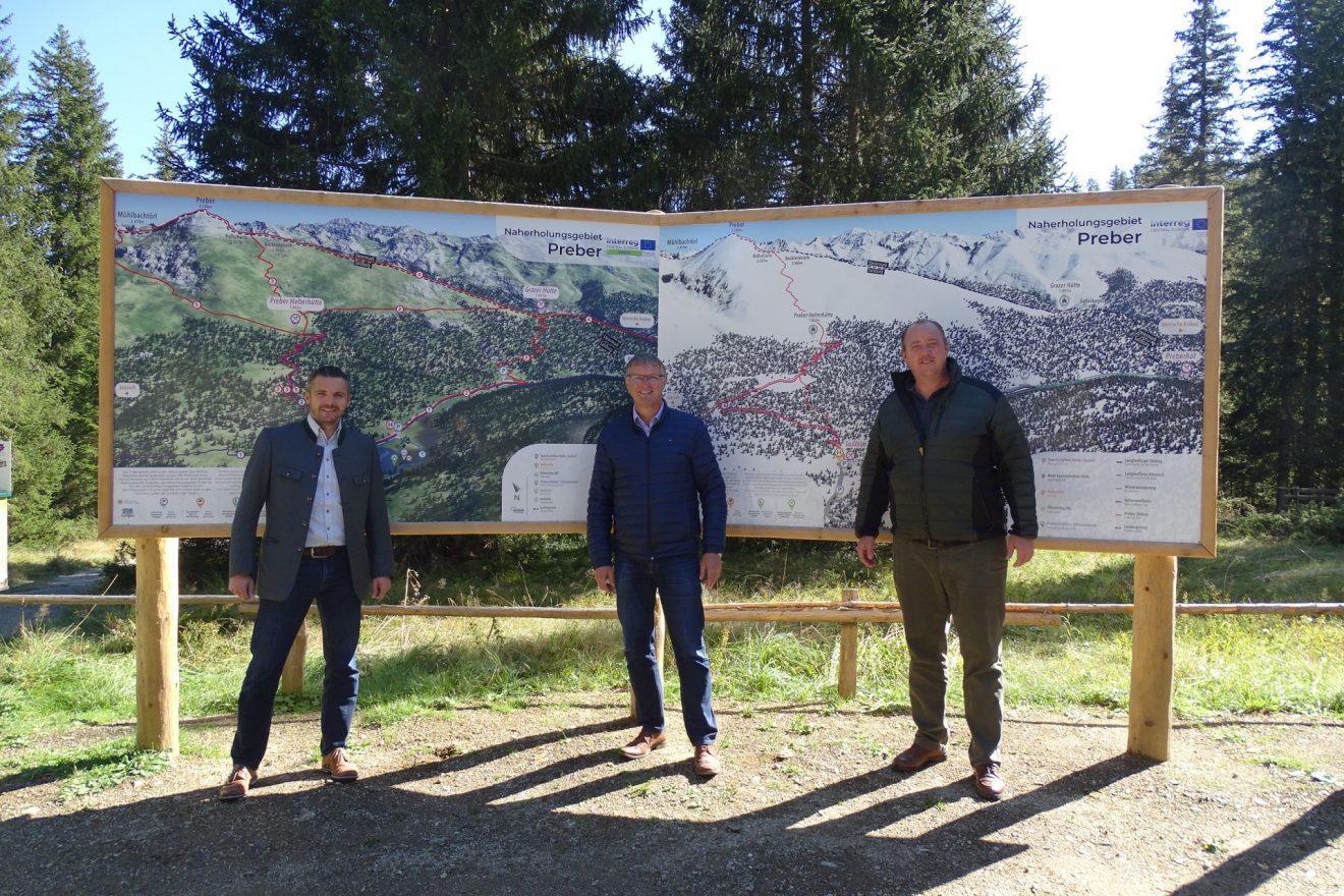 3D - Panoramakarte für alle Lungauer Gemeinden