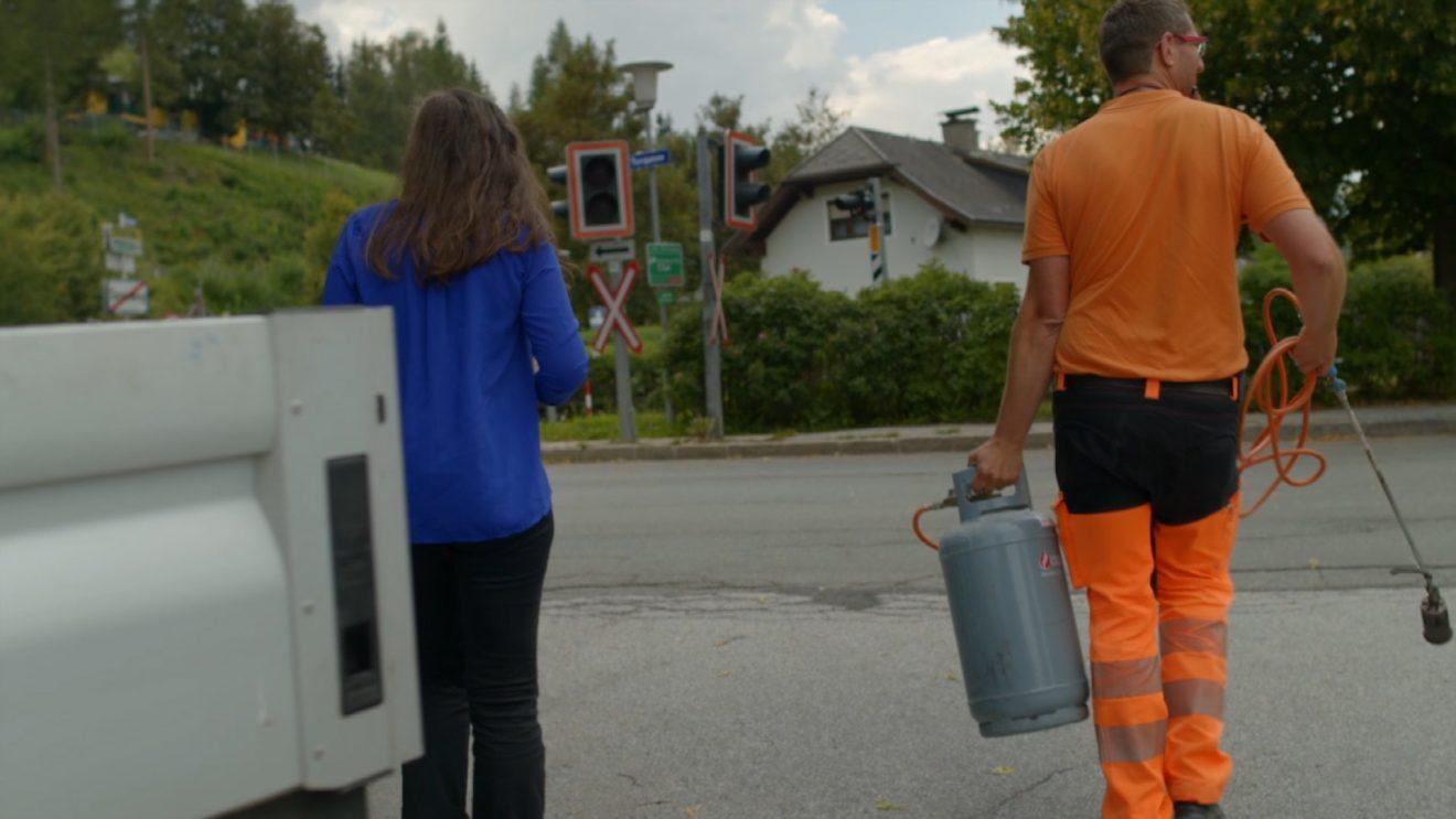 Gemeinde Tamsweg arbeitet Herbizid frei