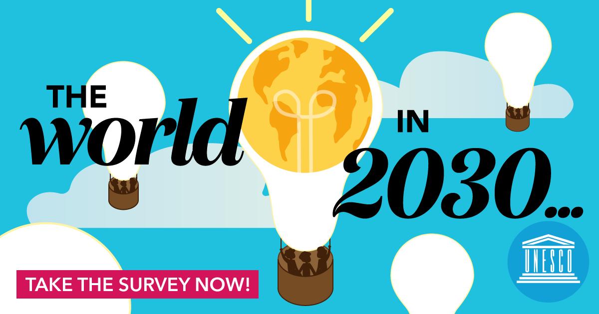 "UNESCO Umfrage - ""Die Welt in 2030"""